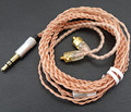 Top qualidade Hand-made upgrade cabos chapeamento de Ouro cabo de 14 núcleo para se215 shure se535 se846 ue900 DIY EAEPHONES