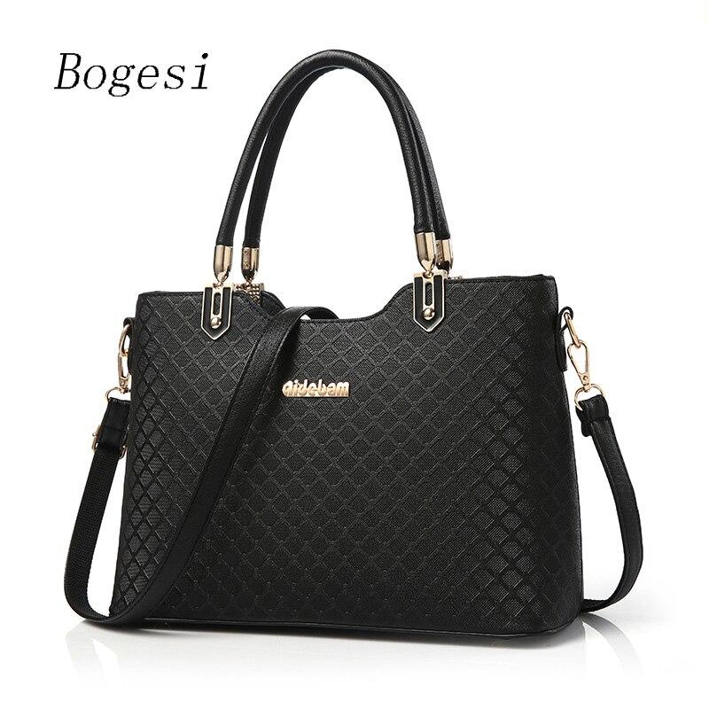 New 2018 Brand Women Shoulder bags New Design PU Leather Handbag Lady Fashion Female Multifunction Shoulder bag Women's Bag