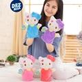 De alta calidad de marca de títeres de animales de peluche muñeca de juguete marioneta rompecabezas juguete kindergarten storytelling finger títeres entre padres e hijos