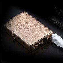 Фестиваль подарки Электронная зажигалка ветрозащитный Ультра-тонкий металлический импульса USB Перезаряжаемые Непламено Авто-прикуриватели