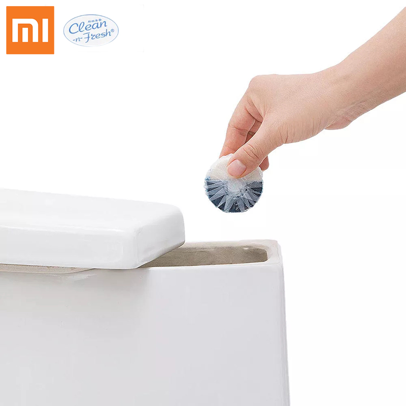 <font><b>Xiaomi</b></font> Clean-n-Fresh Automatic Flush Blue Bubble Toilet Cleaner Deodorization Cleaning Household for Bathroom Restroom Cleaner image