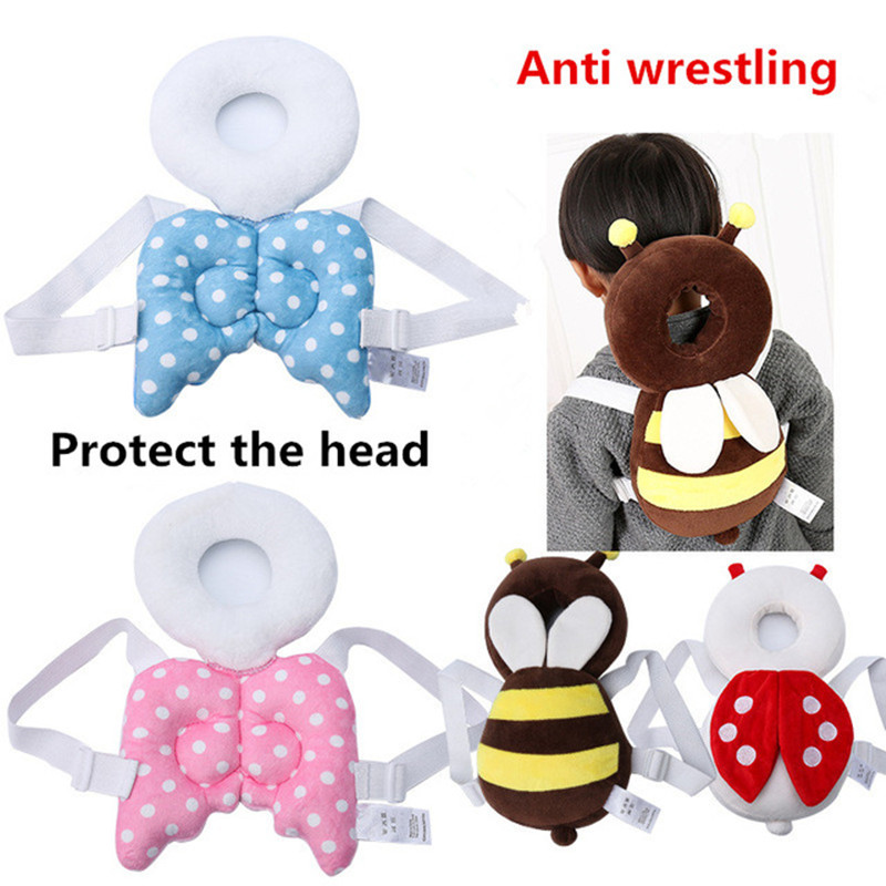 2018 New Baby Learn To Walk Head Protection Pad Wing Anti Wrestling Pad Toddler Headrest Pillow Back To Search Resultsmother & Kids