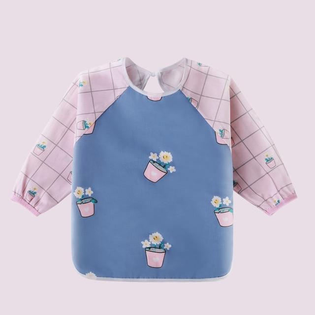Cute Baby & Toddler Bibs - Waterproof Long Sleeve