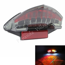 цена Papanda Motorcycle Smoke LED Rear Taillight Tail Lamp for BMW F800S F800ST F800GT K71 F800R K73 R 1200 GS Adventure K255