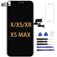 Черная ОЕМ панель OLED для iPhone X XS lcd сенсорный экран дигитайзер сборка телефона запасная часть для iPhone XS Max XR ЖК-дисплей