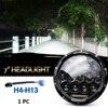 75w Led Headlight 7inch Round High Low Beam DC 12v 24v External Lights for Off Road 4x4 Jeep Wrangler Jk Tj Lada Niva