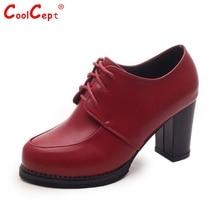 ผู้หญิงหนารองเท้าส้นสูงผู้หญิงรอบนิ้วเท้าลูกไม้ขึ้นปั๊มคลาสสิกพรรคOLส้นรองเท้าส้นรองเท้าขนาด35-39 Z00263
