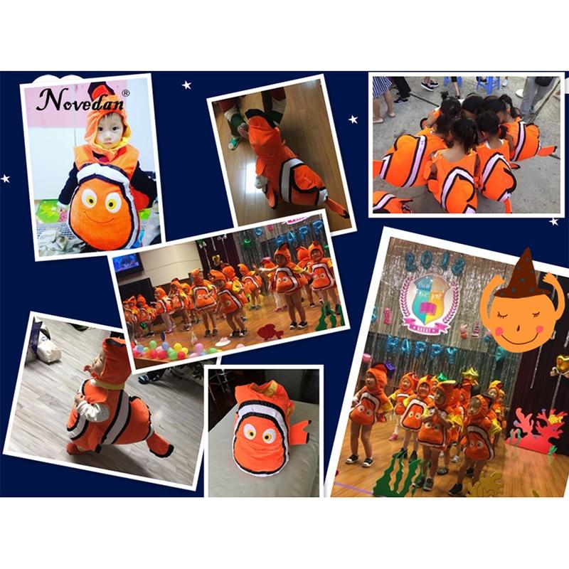 Image 5 - Nemo Costume Baby Kids Fish Clownfish From Pixar Animated Film Finding Nemo Halloween Christmas Cosplay Costume    -