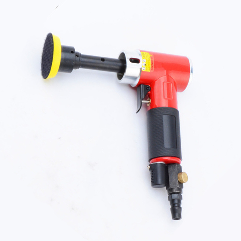 2 inch 90 degree small pneumatic polisher wind grinding machine air sanding polishing tool sander longer spindle eccentric model swingable pneumatic eccentric grinding machine 125mm pneumatic sander 5 inch disc type pneumatic polishing machine