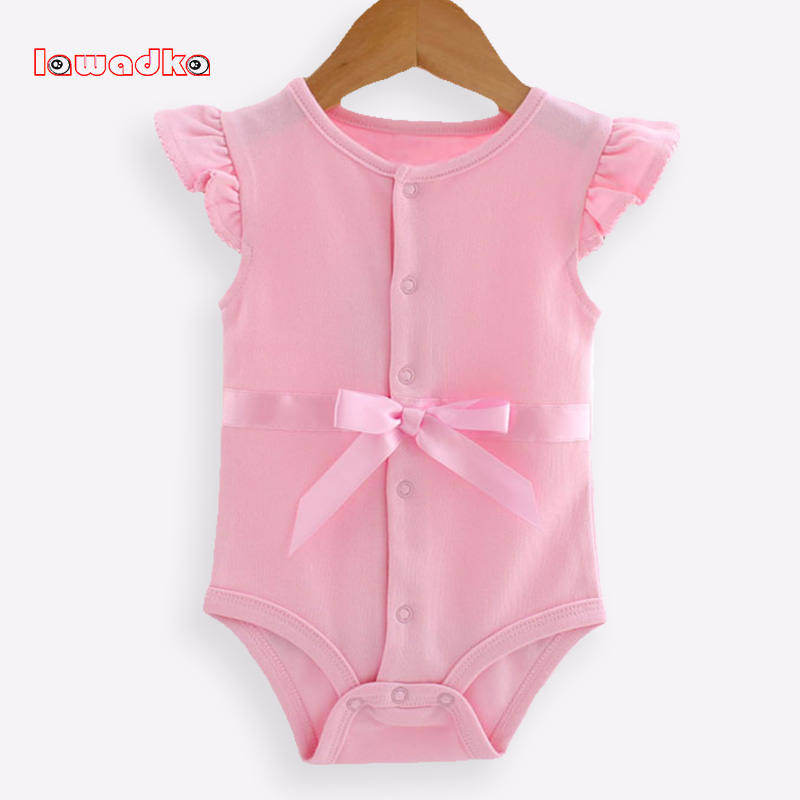 Cotton+Mesh Baby Rompers Summer Baby Wear Infant Jumpsuit Boys Girls Clothes Roupas De Bebe Infantil dinstry 2018 new born baby clothes bird print baby jumpsuit summer baby rompers baby cotton dress