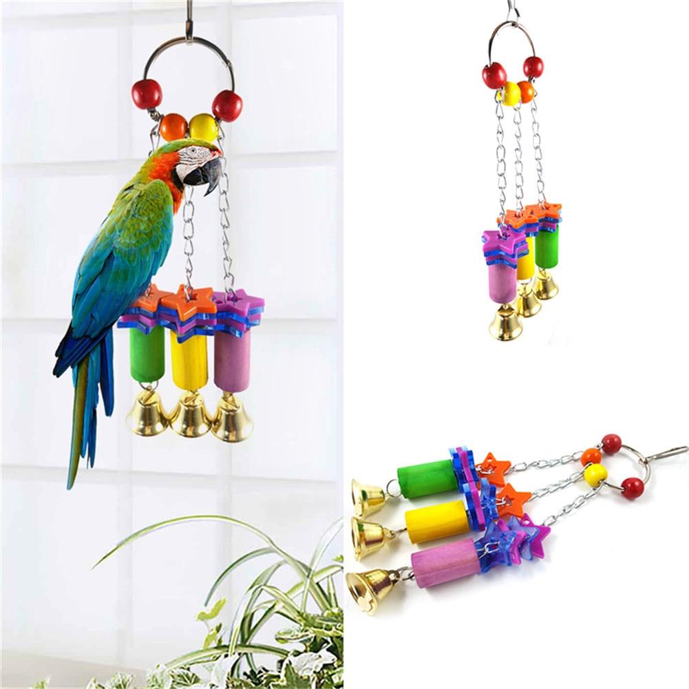 Nevojat e përditshme të papagallit - Stacionet e lëkundjes lodra - Produkte për kafshet shtëpiake - Foto 3