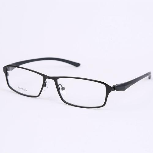 Vidros do olho quadros para homens óculos claros óculos de grau azul óculos frames óculos TR90 templo aro completo 9107