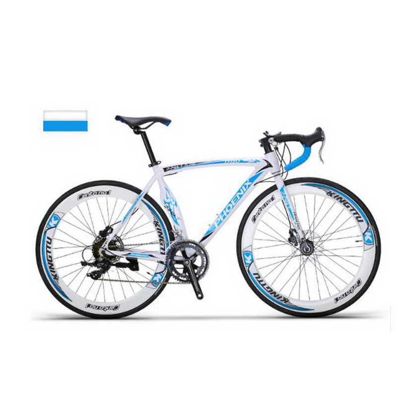 140904/Aluminum alloy road bike / 16 speed variable men and women adult bike ride / race bike/Mechanical disc brake ...