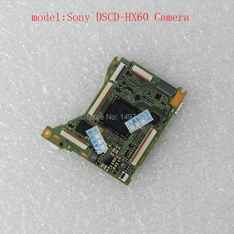 New Original motherboard/main Circuit board/PCB repair Parts for Sony DSC-HX60 HX60V digital camera original digital camera repair parts dsc hx50 zoom for sony cyber shot hx50 lens hx60v lens no ccd unit black free shipping