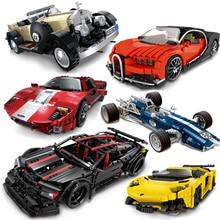 XINGBAO Technic Blocks F1 Racing Car Building Blocks Model Kids Toys Compatible with LOGO CAR Blocks Assassin X19 Bricks Car цена 2017