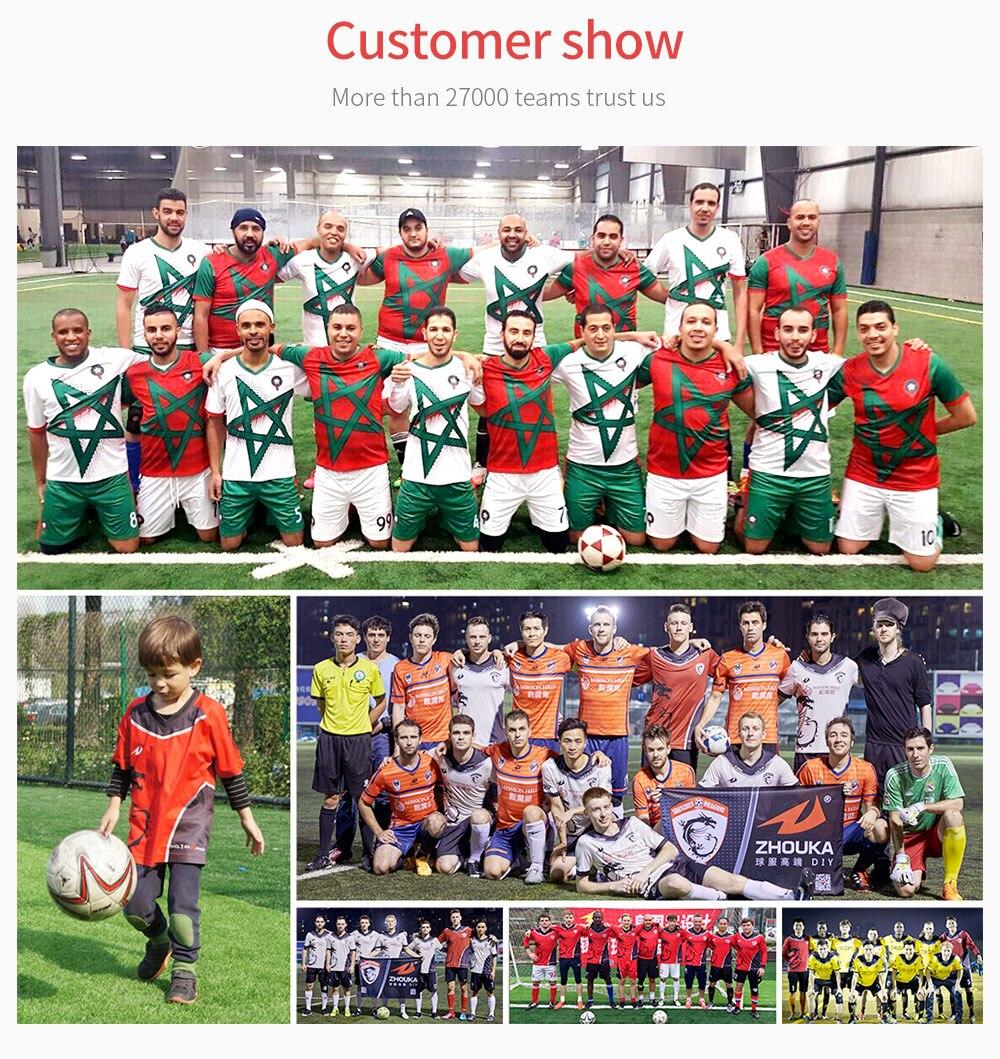 Stil; Zhouka Mode Männer Training T Shirt Für Fußball Lauf Gelb Sublimation Druck Fußball Jersey Shirt Kurzarm Tops Modischer In