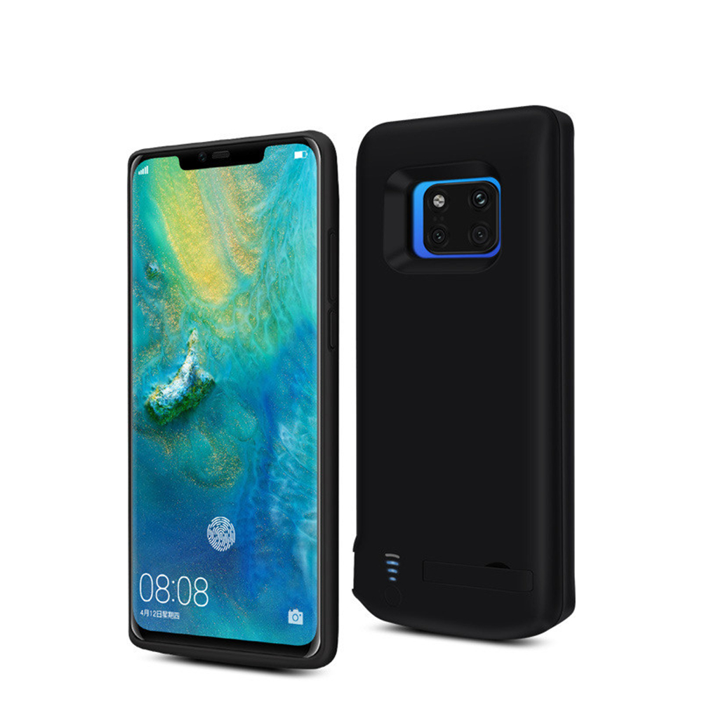 6000mAh Battery Charger Cases For Huawei Mate 20 Pro Silicone Shockproof Case Portable Power Bank Battery Charging Back Cover in Battery Charger Cases from Cellphones Telecommunications