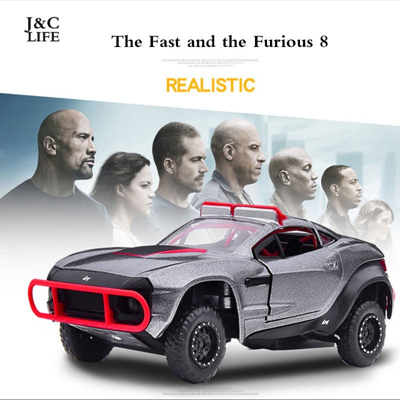 j clife 1 32 fast and furious f8 rally flghter car model. Black Bedroom Furniture Sets. Home Design Ideas