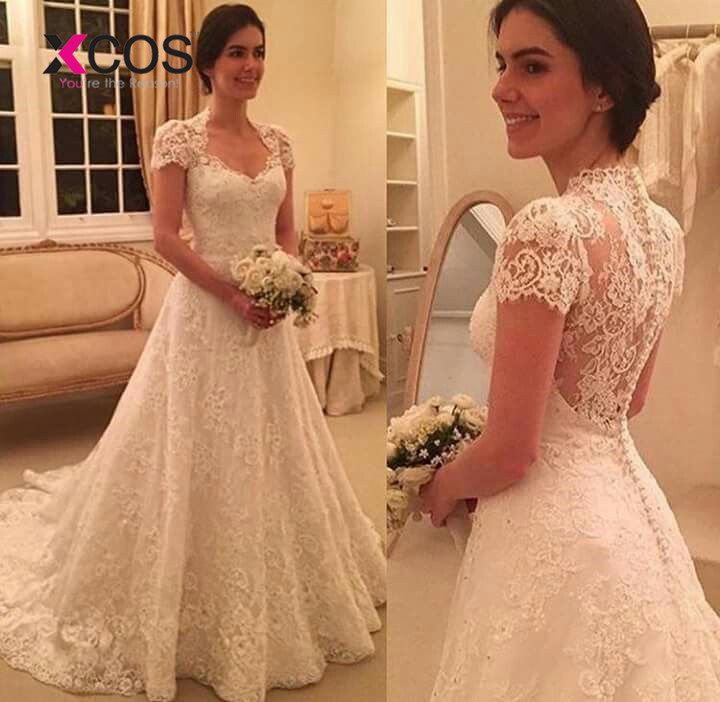 81363b6c4d ⊹ Popular wedding dress bohemian vintage and get free shipping ...