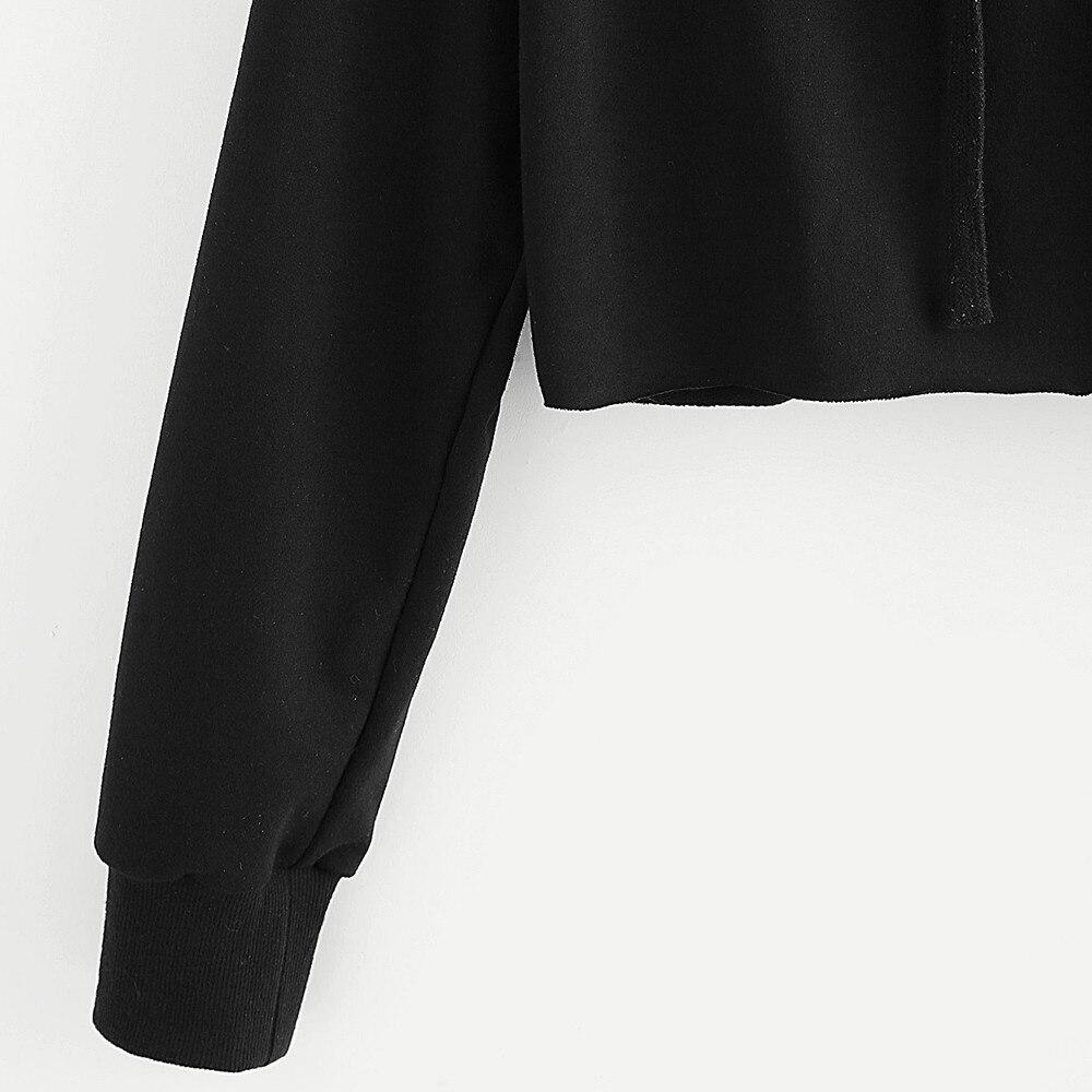 HTB1D0.uSFXXXXcRXVXXq6xXFXXX1 - Women Hoodie Crop Sweatshirt Jumper Crop Top Embroidery Pullover Black Cotton PTC 285