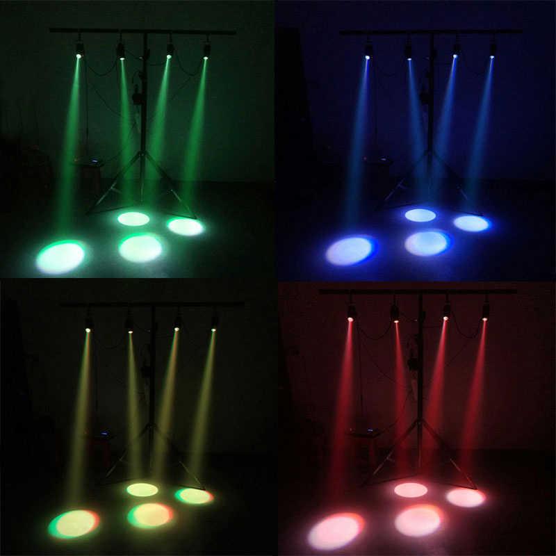 Последние 10 Вт прожектор светодиодный RGBW 4в1 Светодиодный точечный луч света для зеркального шара для дискотеки DJ вечерние события Live Show
