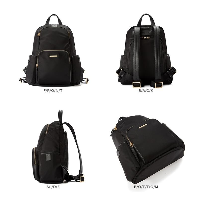 EMINI HOUSE Anti Theft Backpacks For Women Travel Waterproof Nylon Bag Backpack Female Zipper Design School Bag Back Pack in Backpacks from Luggage Bags