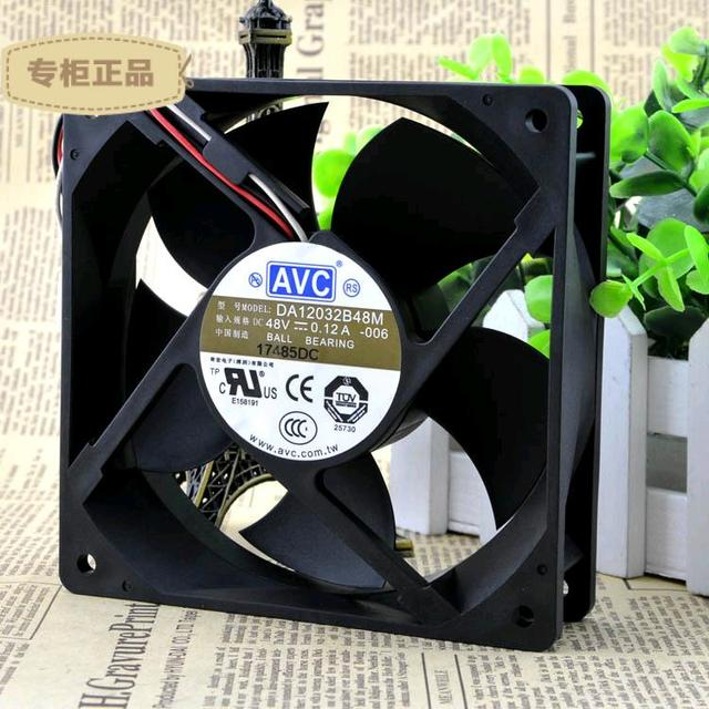 Entrega gratuita. 12032 12 cm chasis ventilador industrial inversor mute DA12032B48M 48 v