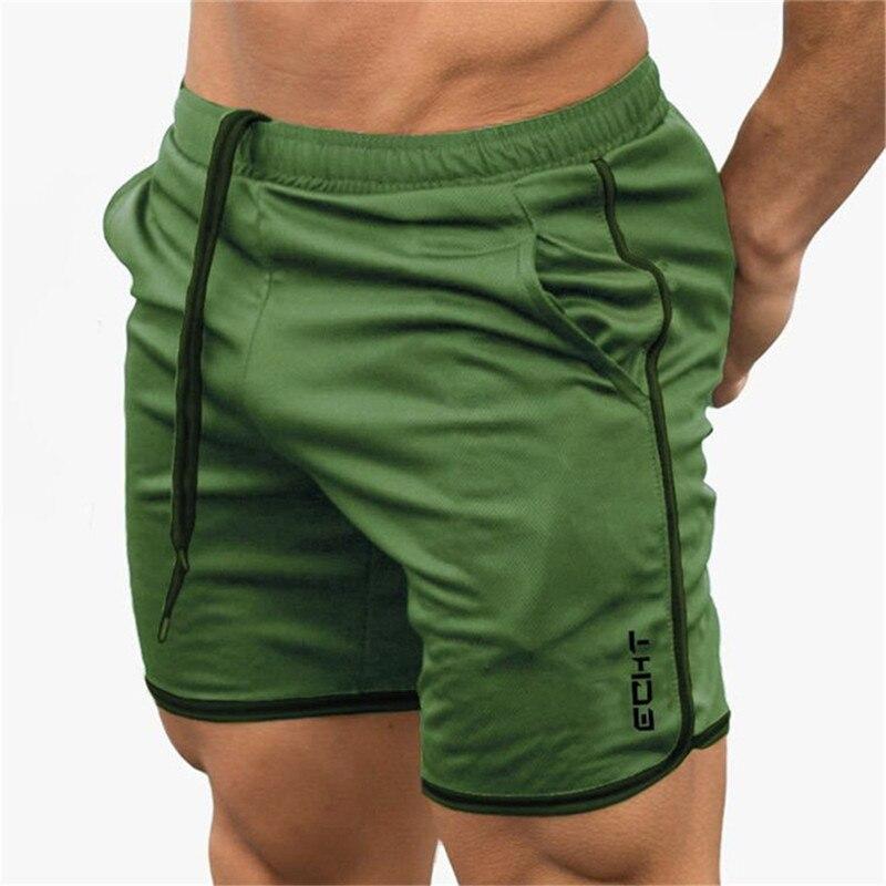 2019 Summer Men's Racing   Shorts   Fitness   Shorts   Quick Dry Mens Men's Crossfits Gymnasium Sports Gyms Men's   Short   Pants