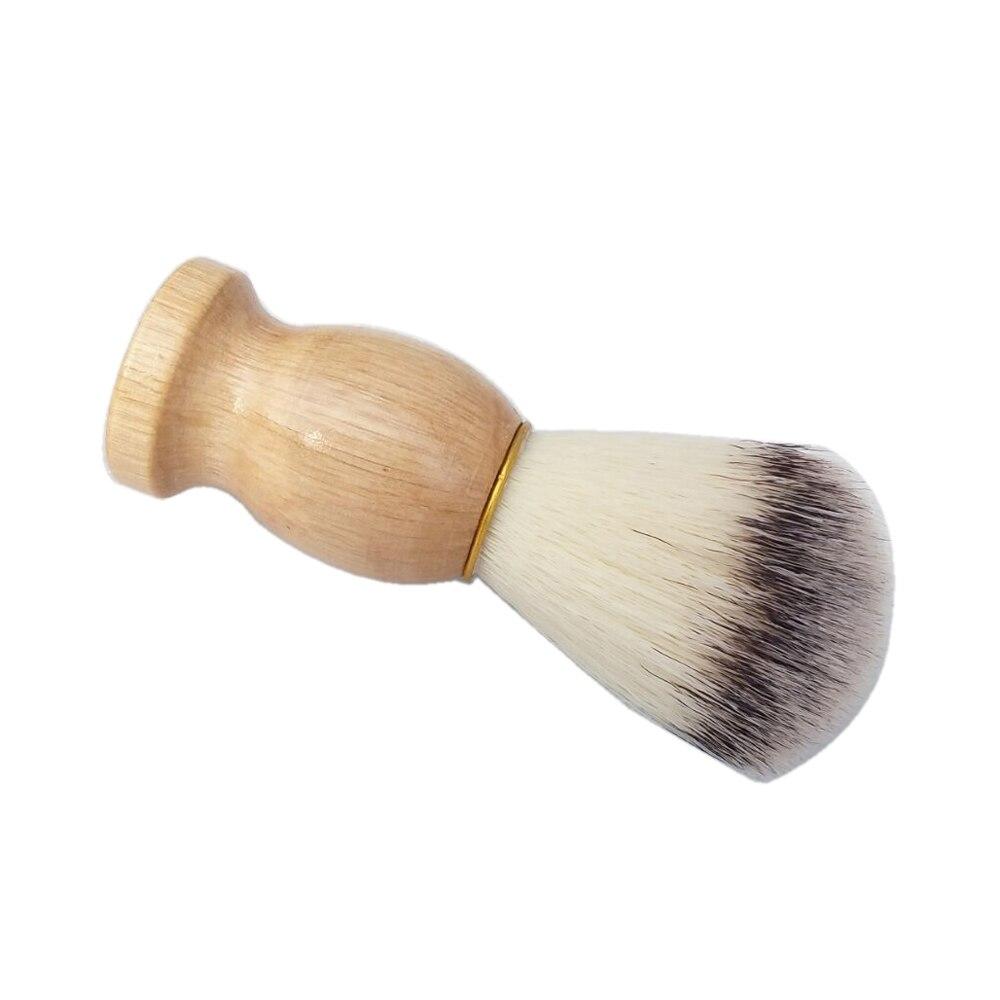 2pc / set Black Badger Shaving Cream Brush med keramisk skäggskål - Rakning och hårborttagning - Foto 4