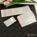 (8187)100PCS Jewelry Plastics Bags Transparent Plastics Packing Bags