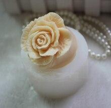 Blume rose silikonformen blume rose seifenform blumen silikonseifenform silikagel sterben Aroma steinformen kerzeform