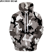 Grey Camo 3DPrint Hoodies Men S Clothing Women Sweatshirt Casual Tracksuit BrandJacket Hoodie Coat Pullover Dropship ZOOTOPBEAR