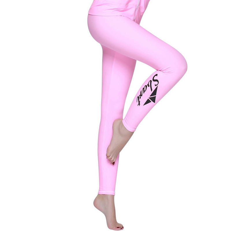 73d062489f Womens Rashguard Long Pants Surf Wetsuit Wakeboard Yoga Fitness Sports  Leggings 2017 New Upf 50+ Tights Swim Pants Jammers-in Jammers from Sports  ...