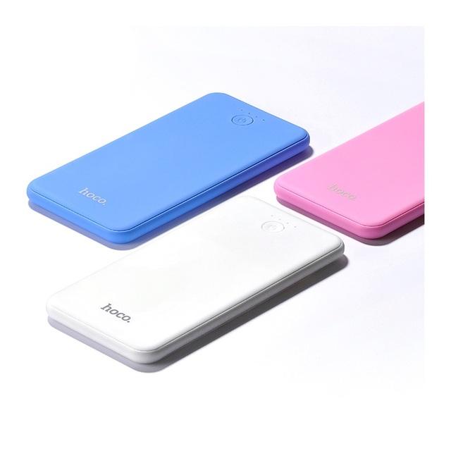 Hoco original novo marca b8 colorido 6000 mah dual usb carregador de banco de potência para iphone samsung sony smartphone