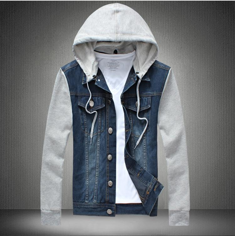Aliexpress.com : Buy New Fashion Mens Denim Jeans Hoodie Jackets ...