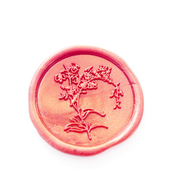Laurels Wax Seal Stamp, Wax Stamp, Wedding Wax Seal, flower Envelope Seal, Wedding Invitations Laurels Seal,Wedding Stamp excellent queality seal wax particle tablet in mini glass bottle 75 pcs muti colored to choose seal wax stamp use