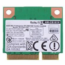 Tarjetas de Red del ordenador portátil AW-CB161H Inalámbrica 802.11ac/n/b/g Bluetooth 4.0 de Tamaño Medio PCIe Tarjeta Notebook Tarjetas de red T20