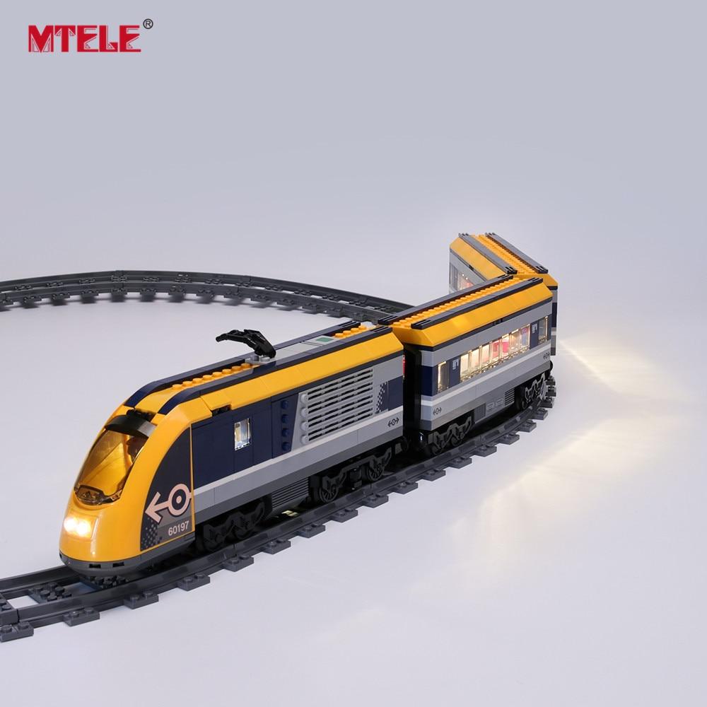 LED Light Up Kit For LEGO 60197 City Series Passenger Train Lighting Set 60197