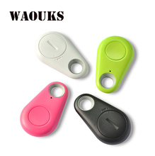 3PCS/LOT mini bluetooth gps tracker for automobile sensible key finder itag anti misplaced alarm tracker with free down load gps pet tracker