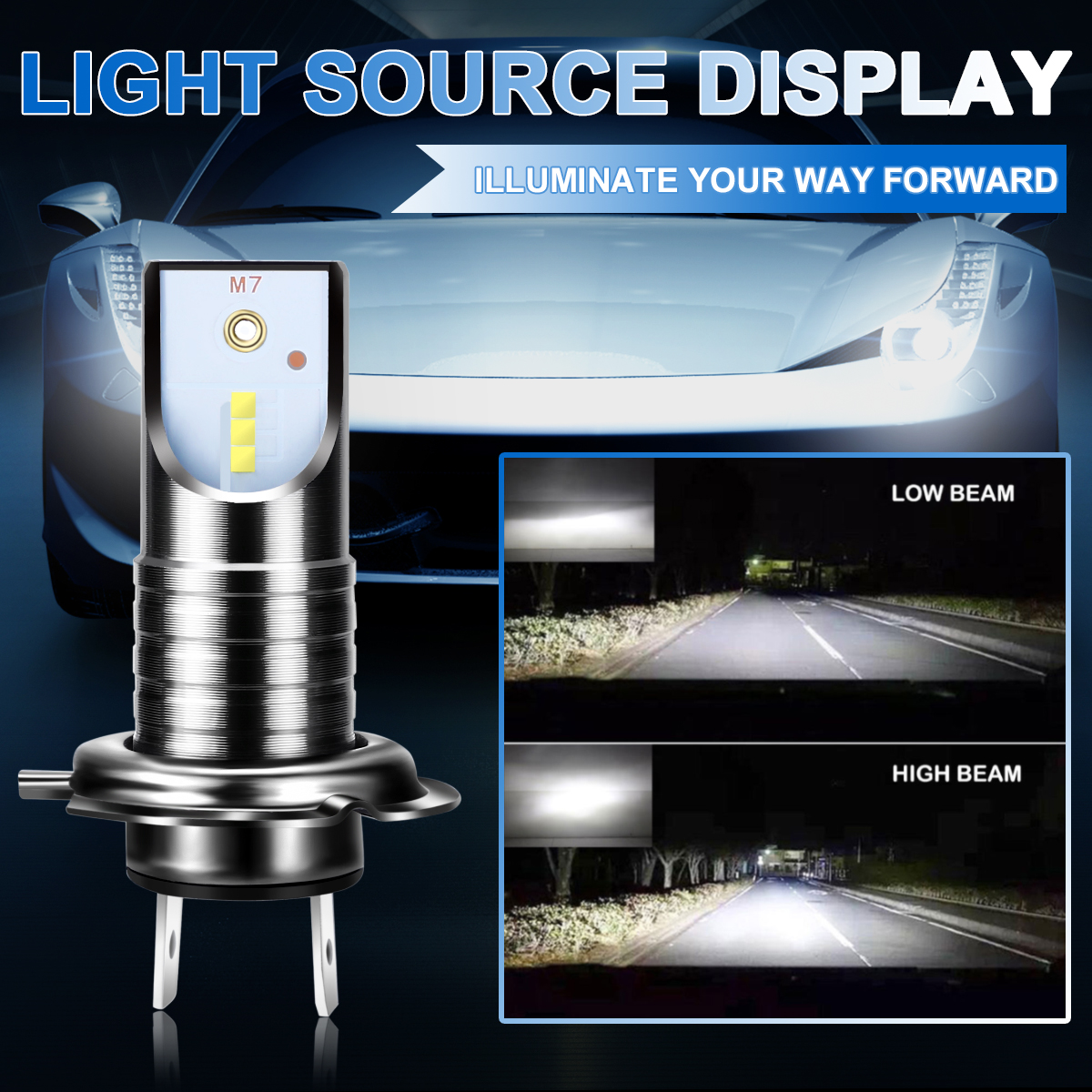 2pcs H7 LED Car Headlight Bulb 110W 13000LM 6000K 32V Canbus Error Free Bulb White Headlamp For BMW For Audi For Hyundai