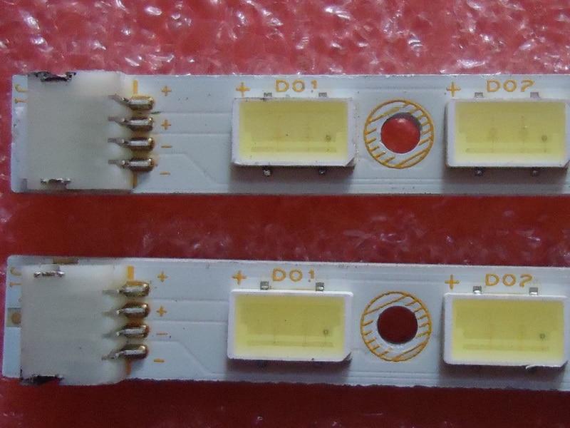 חלקי חילוף לקטנועים עבור TCL L55P11FBDE סעיף מנורה 73.54T02.003-0-SN1 73.54T02.004-0-SN1 1piece = 72LED 615MM (2)