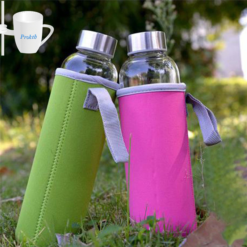 Sport Water Bottle Cover Neoprene Insulator Sleeve Bag Case Pouch ...