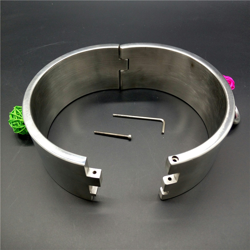 Hot. heavy steel bdsm collar Just