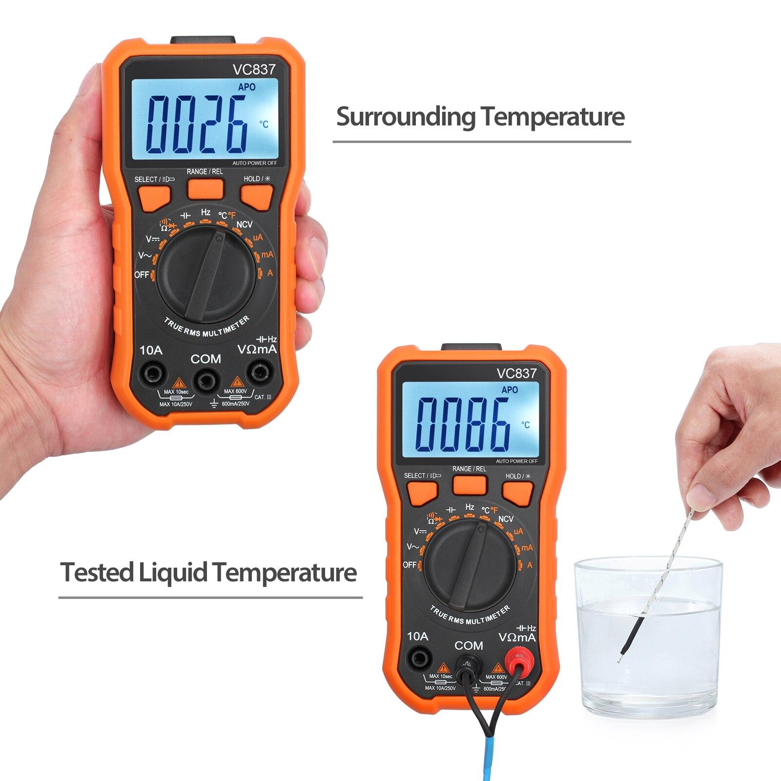 automática ncv detector dc ac tensão medidor