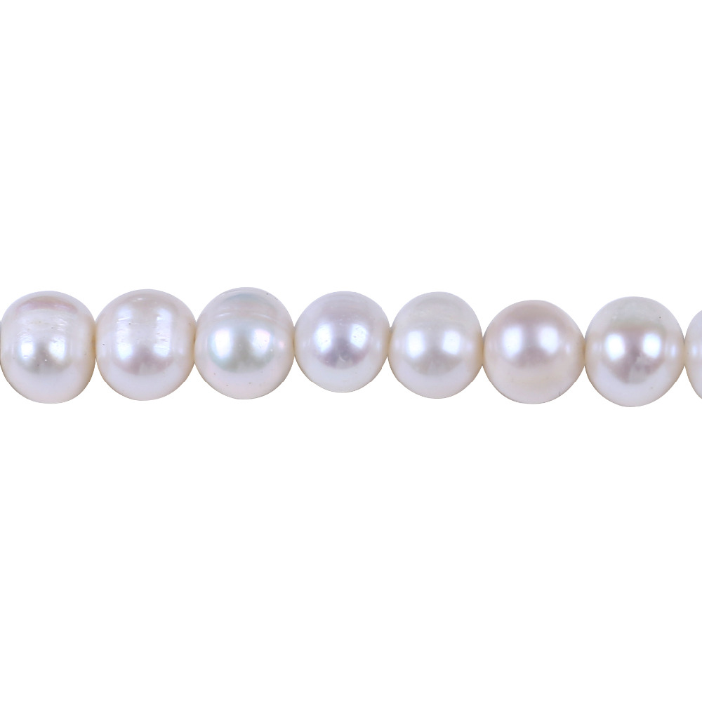 Jewelry & Accessories 100% Quality A Grade 7-8mm Potato Freshwater Pearl String Diy Necklace Bracelet Jewelry Making Potato Shape Cultured Loose Beads Strand Beads