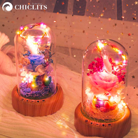 Chiclits LED Night Lights Home Decorative Dream Streamer Rechargeable Battery Bluetooth Wireless Speaker Table Lamp Night