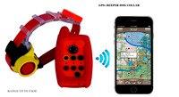 Водонепроницаемый собака звуковой воротник и GPS трекер воротник 2 в 1 для охотничьих собак