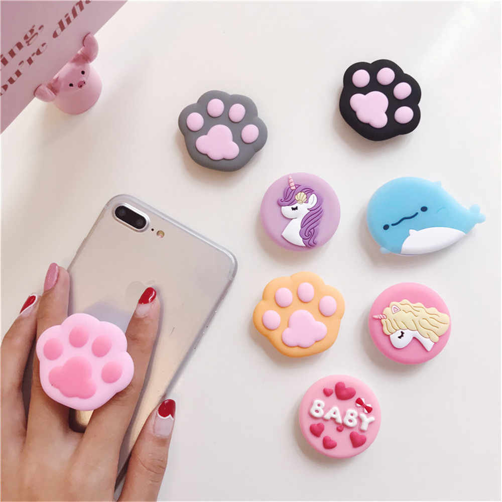 Phone Holder 3D ring base Grip Stand Finger Popular Expanding stand Finger  Support Mobile Cartoon Cute d3b4ebefbf55