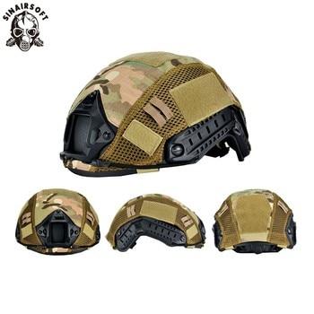 Head Circumference 52-60cm Helmet Tactical Helmet Cover Airsoft Paintball Wargame Gear CS FAST Helmet Cover цена 2017