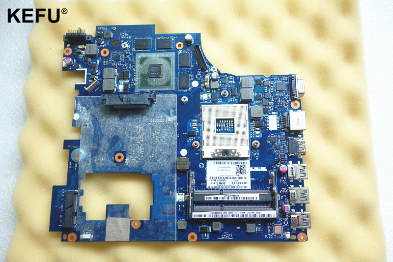 High quality laptop motherboard Fit for Lenovo Ideapad G780 17.3'' QIWG7 LA-7983P HM76 PGA989 DDR3 2GB Fully tested OK 683495 001 for hp probook 4540s 4441 laptop motherboard pga989 hm76 ddr3 tested working